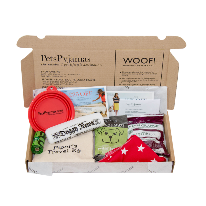 Canine Travel Kit £22 PetsPyjamas_preview